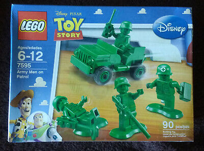 Lego Toy Story Army Men On Patrol (7595) + Army Jeep (30071) New MISB OOP • 36.38£