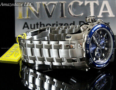 $ CDN101.27 • Buy NEW Invicta Men Pro Diver Scuba VD53 Chronograph Stainless Steel Blue Dial Watch