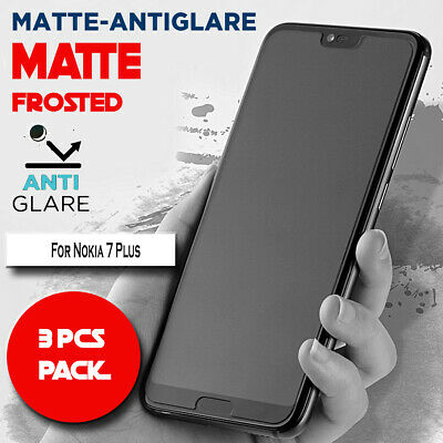 AU5.99 • Buy 3 X Matte Frosted Antiglare Full Cover Screen Protector For Nokia 7 Plus