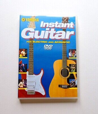 Yamaha Instant Guitar For Electric And Acoustic - Region Free DVD. • 3.99£