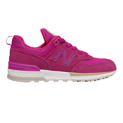 new balance 574 niña purple