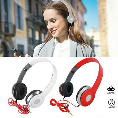 $3.28 • Buy Foldable DJ Style Stereo Over Ear Headphones W Nice Quality Sound 3.5mm Jack