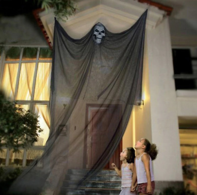 $19 • Buy 3.3M Long Halloween Hanging Skeleton Flying Ghost Decorations For Outdoor