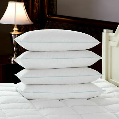 Super Soft Duck Feather & Down Non-allergenic Extra Filled Hotel Quality Pillows • 8.29£