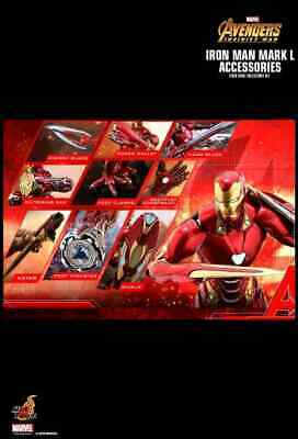 AU316.09 • Buy Hot Toys Avengers 3: Infinity War Iron Man Mark L (50) Accessories ACS004