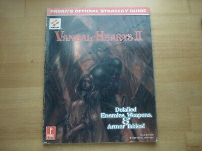 £21.44 • Buy Vandal Hearts II PLAYSTATION Prima Games Official Strategy Guide Book