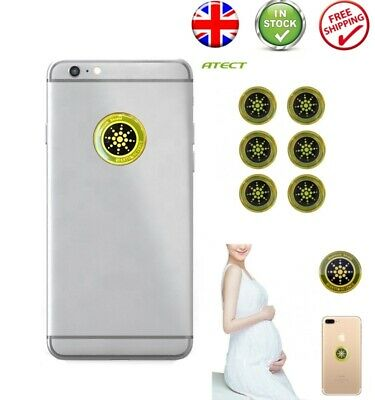 EMF Protection Quantum Scalar Anti Radiation Tablet Laptop Phone Mobile Sticker  • 4.99£