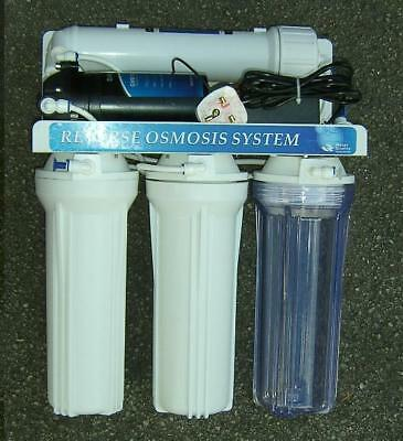 Reverse Osmosis System With Booster Pump And DI Water Fed Pole Pure Water. • 199£