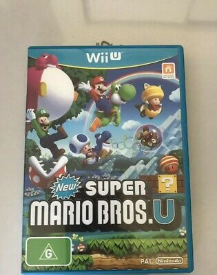 AU30 • Buy New Super Mario Bros U Wii U - PAL