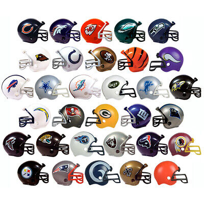 $4.98 • Buy NFL Mini Pocket Size Football Helmet Pick Your Favorite Team Gumball