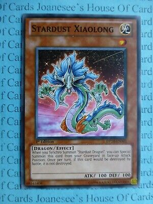 Stardust Xiaolong DP10-EN003 Common Yu-Gi-Oh Card 1st Edition New • 0.99£