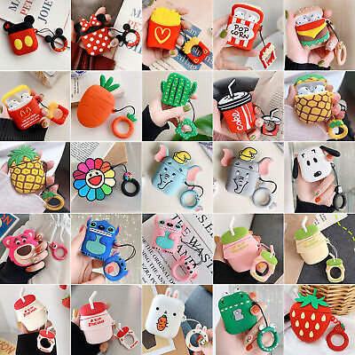 $ CDN9.31 • Buy Lovely Cartoon Silicone Airpods Case Cover Skin For Apple Airpods Accessories