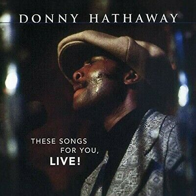 Donny Hathaway - These Songs For You, Live [New CD] Holland - Import • 9.34£