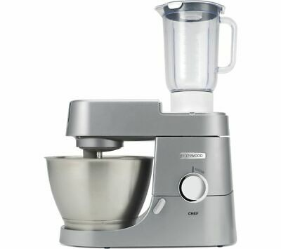 KENWOOD Chef KVC3110S Stand Mixer With Blender - Silver - Currys • 269£