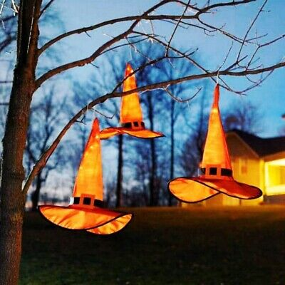 $ CDN3.76 • Buy Witch Hats Caps String Lights Outdoor Lights Cosplay Party Halloween Decorations