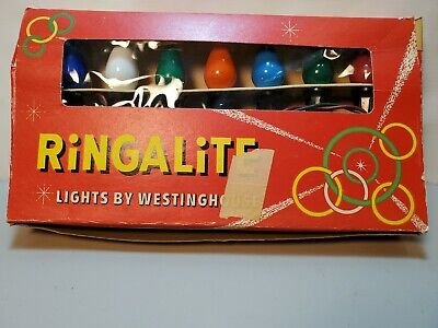 $ CDN21.78 • Buy Ringlite Christmas Lights By Westinghouse 7 Set String Vintage Pre-owned