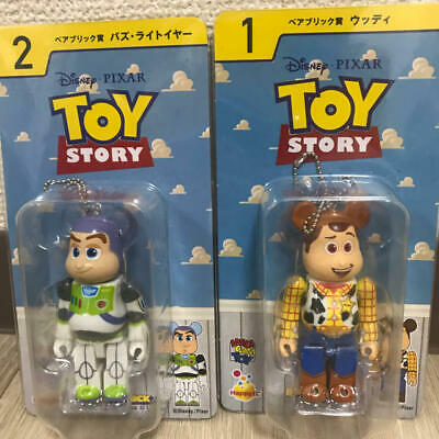 $99.99 • Buy BE@RBRICK 100% TOY STORY WOODY & BUZZ LIGHTYEAR Set Lot Of 2 Rare Bearbrick