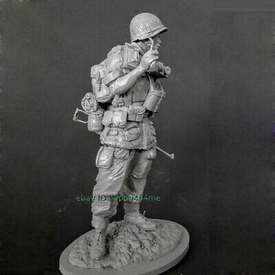 £26.99 • Buy Resin 1/16 Scale Ancient Soldier Figure Model Standing Man Garage Kits Statue