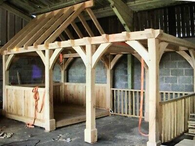 £6500 • Buy   REDUCED Oak Frame Building Made To Measure Orangery Conservatory Outbuilding