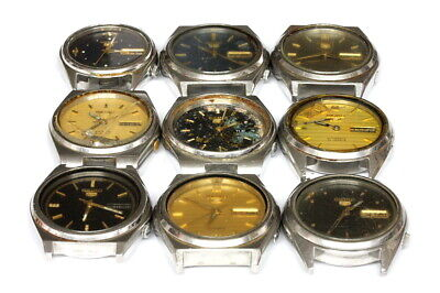 $ CDN143.46 • Buy Seiko 7009 Automatic Vintage Watches For Parts - Lot Nr. 129358