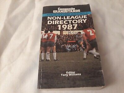 £6.99 • Buy 1987 FA NON LEAGUE DIRECTORY (YEARBOOK) Softback