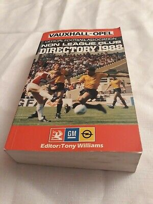 £6.99 • Buy 1988 FA NON LEAGUE DIRECTORY (YEARBOOK) Softback