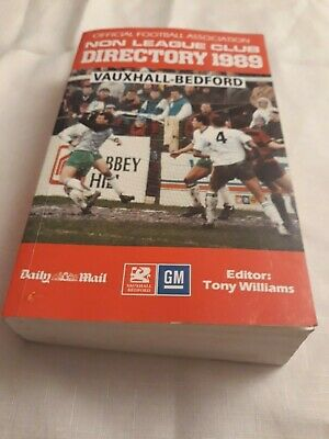 £6.99 • Buy 1989 FA NON LEAGUE DIRECTORY (YEARBOOK) Softback