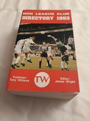 £6.99 • Buy 1993 FA NON LEAGUE DIRECTORY (YEARBOOK) Softback