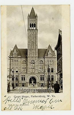 $8.85 • Buy Postcard 1906 West Virginia Parkersburg Courthouse Posted St Marys WV Boreman