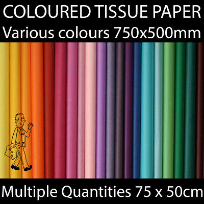 £3.49 • Buy Acid Free Tissue Paper Gift Wrapping Craft Multiple Colours Biodegradable BRIGHT