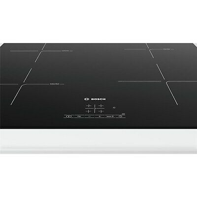 Bosch PUE611BF1B Serie 4 59cm Frameless Four Zone Induction Hob - Bla PUE611BF1B • 408.97£
