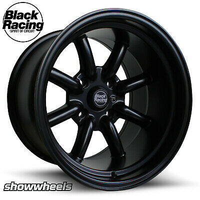 AU1025 • Buy 15x8 15x10 BLACK RACING BR8 Wheels Holden Torana LX LH Superlite 5x108 Flares