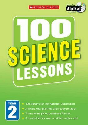100 Science Lessons: Year 2 (100 Lessons - New Curriculum) By Smith New+- • 22.81£