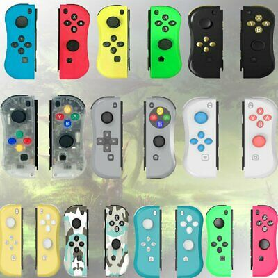 10Colors Joy-Con Game Controllers Gamepad Joypad For Nintendo Switch Console US • 34.40$