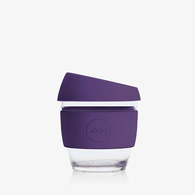 AU21.70 • Buy New Reusable Handblown Glass Coffee Cup (4oz) Violet- By JOCO
