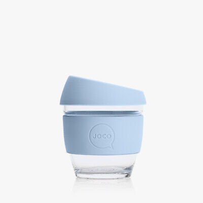 AU21.70 • Buy NEW Reusable Handblown Glass Coffee Cup (4oz) Vintage Blue By JOCO