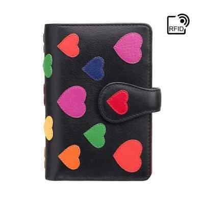 AU88.51 • Buy Visconti Love Collection Womens RFID Medium Leather 9 Card Purse Gift Boxed LV4