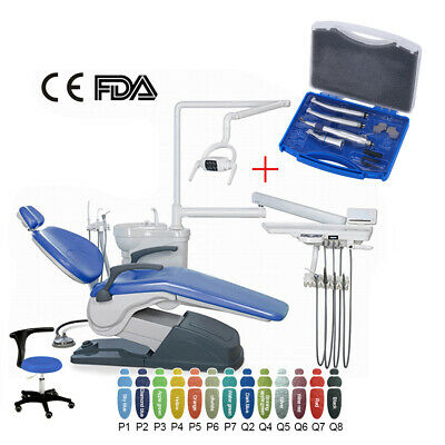 £1267.25 • Buy Dental Chair Leather DC Motor Unit Hard Leather + High Low Speed Handpiece Set