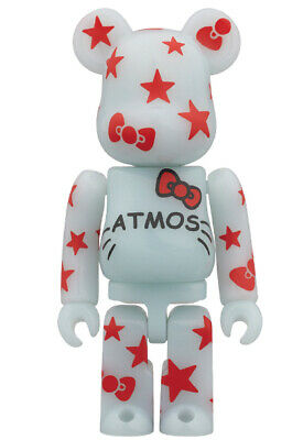 $199.99 • Buy BE@RBRICK 100% Atmos X HELLO KITTY SANRIO Rare Medicom Bearbrick From Japan