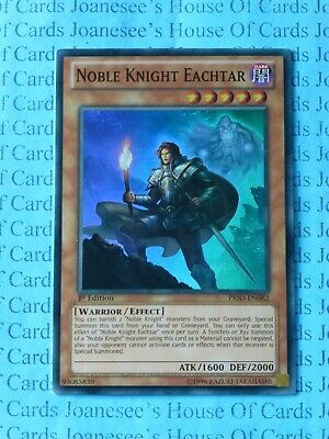 Noble Knight Eachtar PRIO-EN082 Super Rare Yu-Gi-Oh Card 1st Edition New • 0.99£