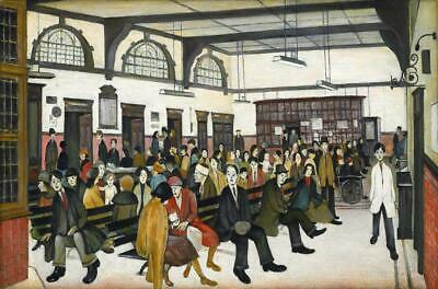 Lowry Ancoats Hospital PICTURE PRINT CANVAS WALL ART FRAMED 20X30INCH • 22£