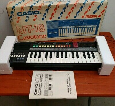 $99.69 • Buy Casio Casiotone MT-18 Electronic Keyboard & RO-551 World Songs On ROM Pack NEW