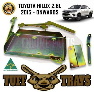 AU79 • Buy Tuff Trays Dual Battery Tray Suits Toyota Hilux Gun123 126 136 156 2.8L 2015 On