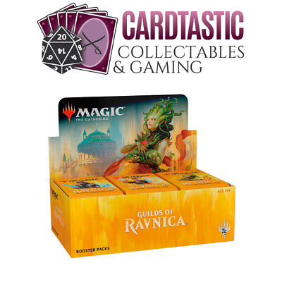 AU150 • Buy Magic The Gathering TCG Guilds Of Ravnica Sealed Booster Box