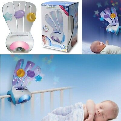 BABY WATCH OVER ME DREAM STATION SLEEPING PROJECTOR NIGHT LIGHT MONITOR For XMAS • 10.95£