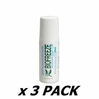 £27.60 • Buy Biofreeze Roll On 89Ml (3 Pack)