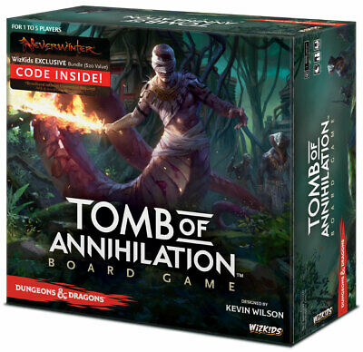 AU122 • Buy Dungeons & Dragons: Tomb Of Annihilation Board Game