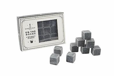 £8.99 • Buy CGB Giftware 'On The Rocks' 9 Whiskey Stones - Gift Ideas For Drink Lovers