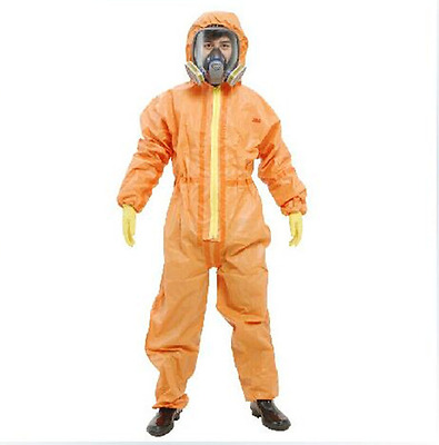 3M 4690 Protective Coverall Chemical Liquid Nuclear Radiation Protection Suit • 62.99$