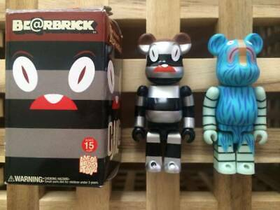 $199.99 • Buy BE@RBRICK 100% Tim Biskup CALLI Set Lot Of 2 Rare Medicom Bearbrick From Japan